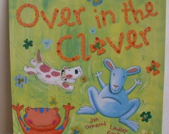 Over in the Clover Jan Ormerod New Paperback book Childrens Fiction Picture Book Bed time Story Book