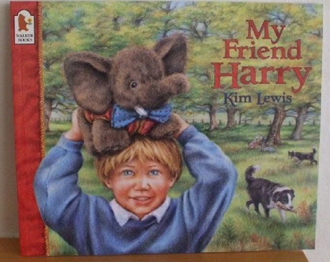 My Friend Harry by Kim Lewis New Paperback book Childrens Fiction Picture Book Bed time Story Book