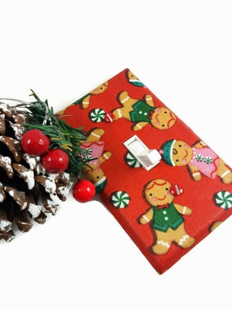 Christmas Decor  Holiday Decor  Christmas Light Switch Cover image 0
