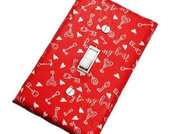 Valentine's Day Decor   Suiteplat   Decorative light switch cover