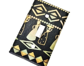 African Themed Home Decor   Ethnic Decor   Ethnic Wall Decor   African Art   Light Switch Cover   African-American   Suiteplat