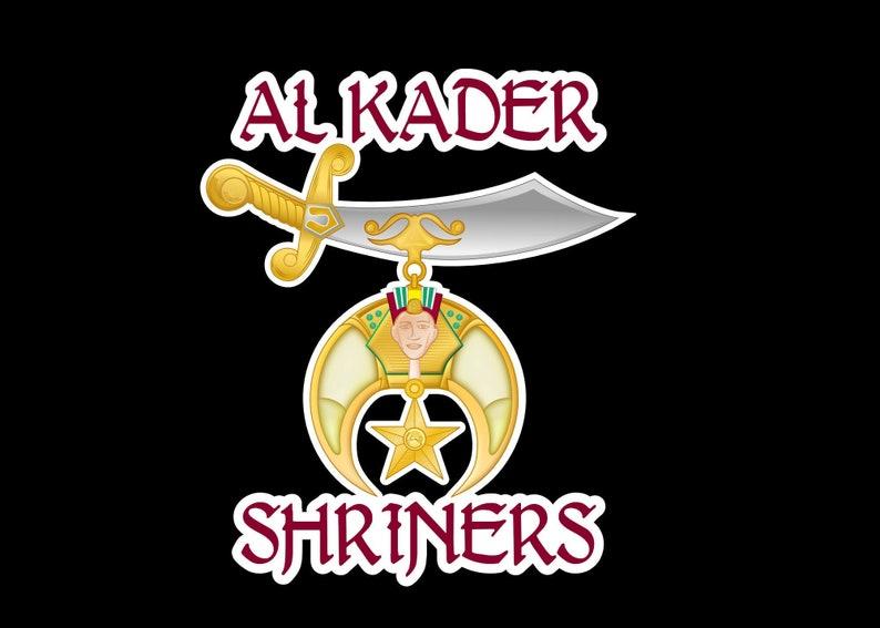 Custom Shrine Logo With Your Temple or Shrine Club Name  image 0