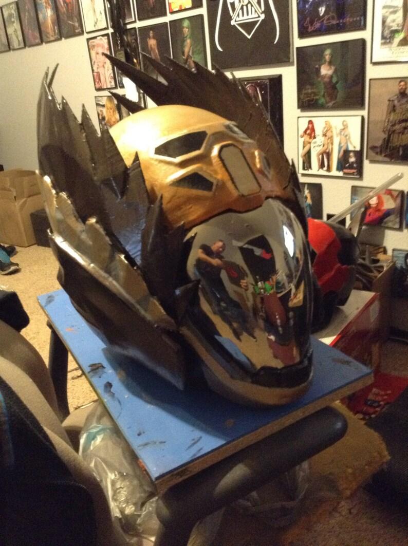 Fan Made  Light Beyond Helmet