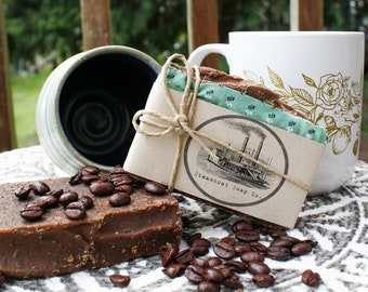 Handmade Chocolate Espresso Coldprocess Soap