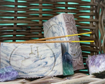 Handmade Nag Champa Bar Soap