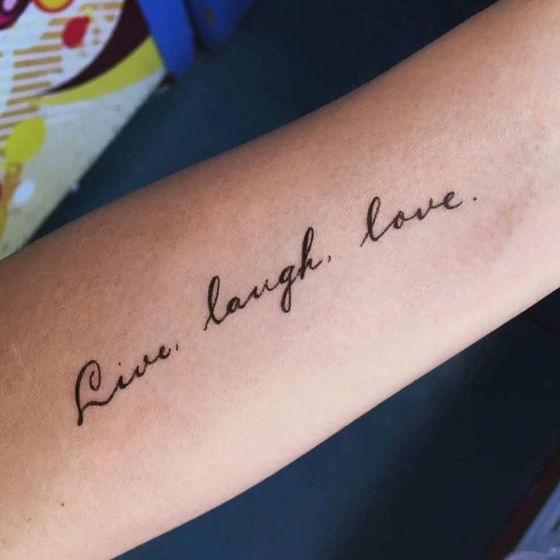 Tattoo Quotes With Names: Travel Tattoo Freedom Quote Tattoo Lettering Temporary