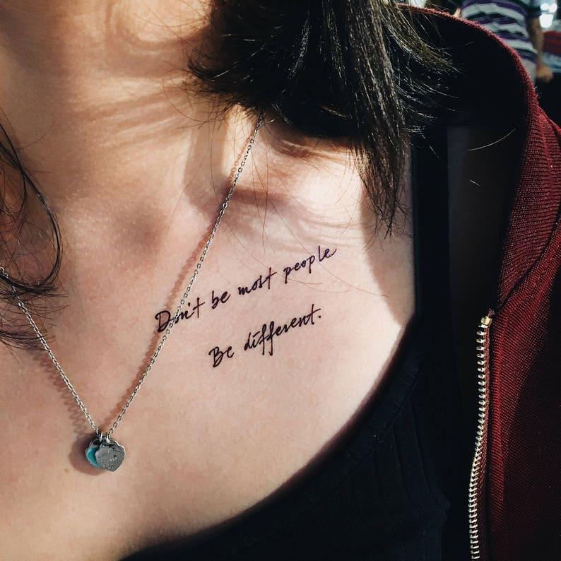 Positivi Vibes regalo BFF tatuaggio piccolo tatuaggio  6e46f13a60b8