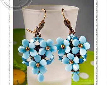 Calvinia  beaded earrings 2 PDF pattern