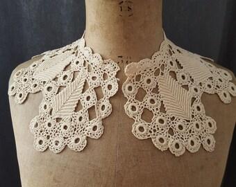 Vintage neck lace crochet - 13454