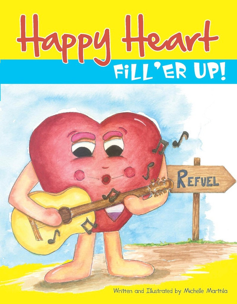 Children's book Kids books Picture book Happy Heart™ image 0