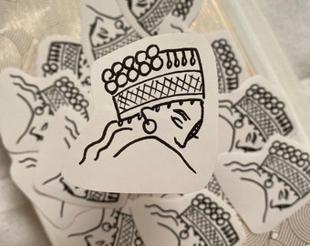 Hmong Sister Sticker, Hmong Stickers, Simple Sticker for Bottles, Laptops, Journals, Bibles, and more
