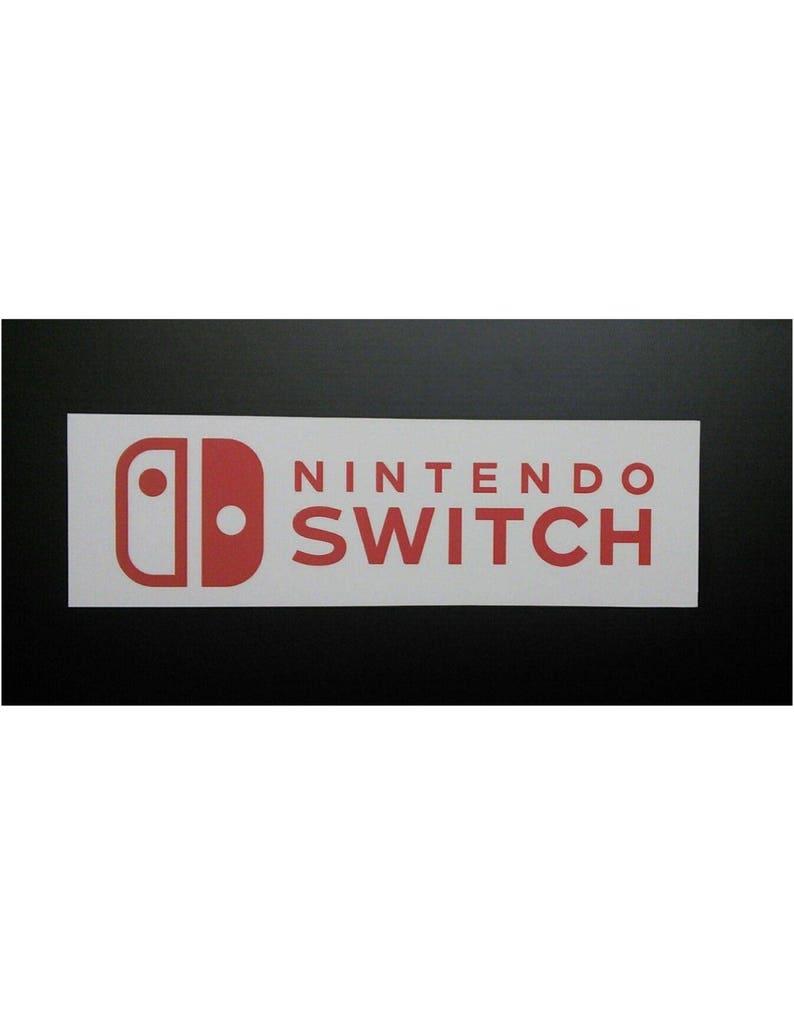Nintendo Switch Logo Sticker