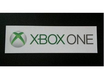 Xbox One Logo Sticker
