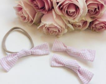 Sissy Set- baby headband or clip