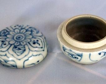 Ancient Hoi An Hoard Lidded Ceramic Jar from a Shipwreck