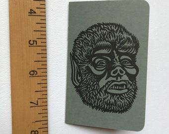 Gray Wolfman Letterpress Booklet