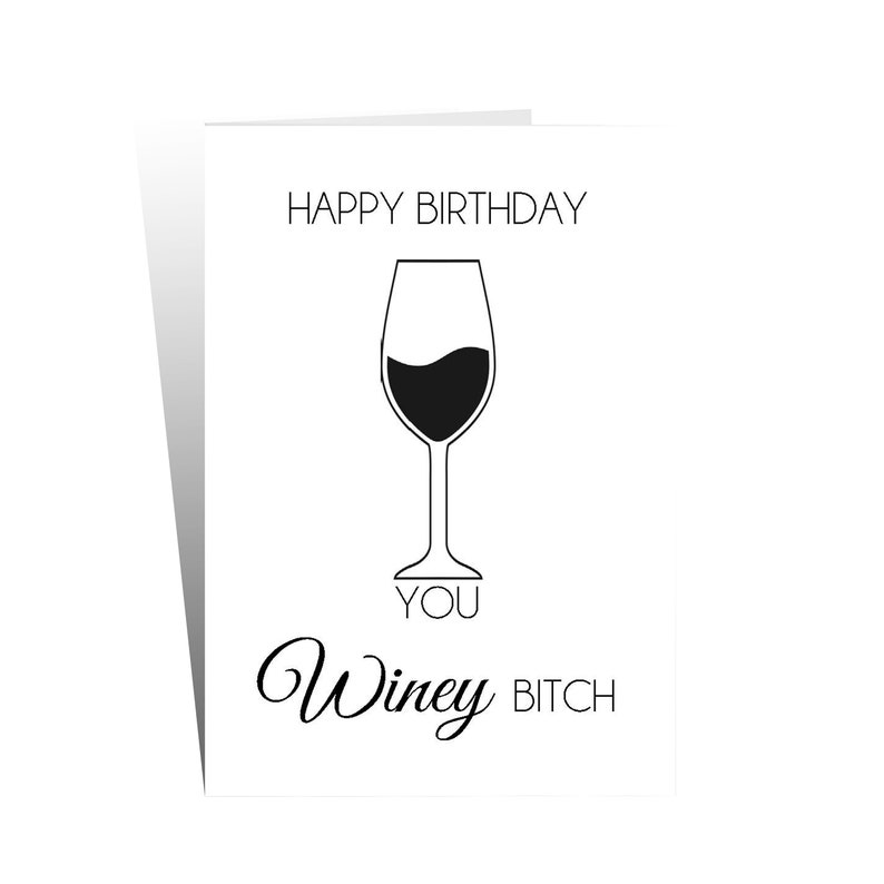 Funny Birthday Card Greetings Rude Offensive