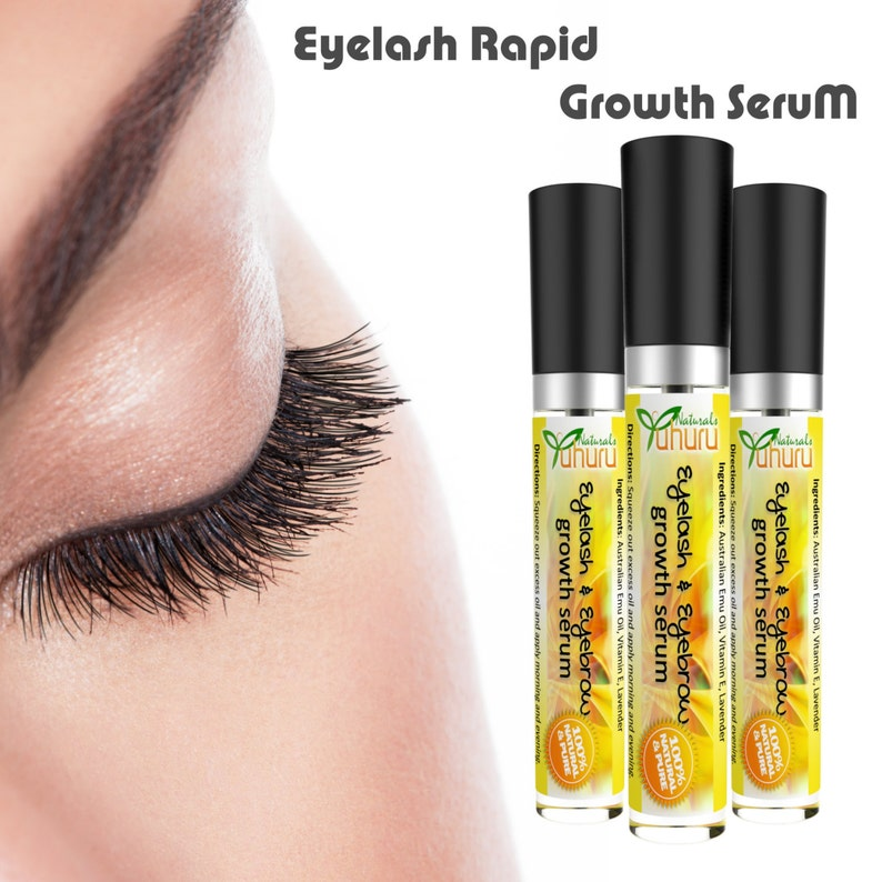 be18ab2628c Eyelash Growth Serum Emu Oil Eyelash Serum Lash Growth Hair | Etsy