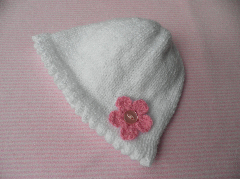chapeau b b fille bonnet blanc de la jeune fille bonnet. Black Bedroom Furniture Sets. Home Design Ideas