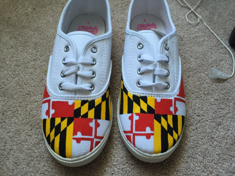 7c81dfdd1a Maryland Flag Shoes