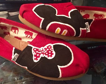 Mickey and Minnie Toms