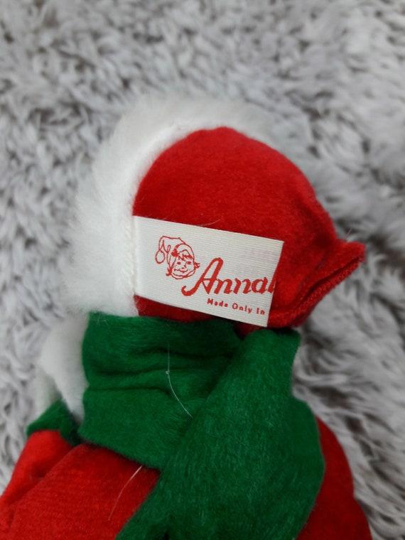 Annalee Weihnachten Lady Vintage roten Mantel mit Muff | Etsy