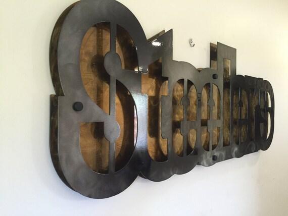 Steelers 3d plaque plaques corporate art nfl metal wall art art decor abstract contemporary modern sculpture wall art mancave