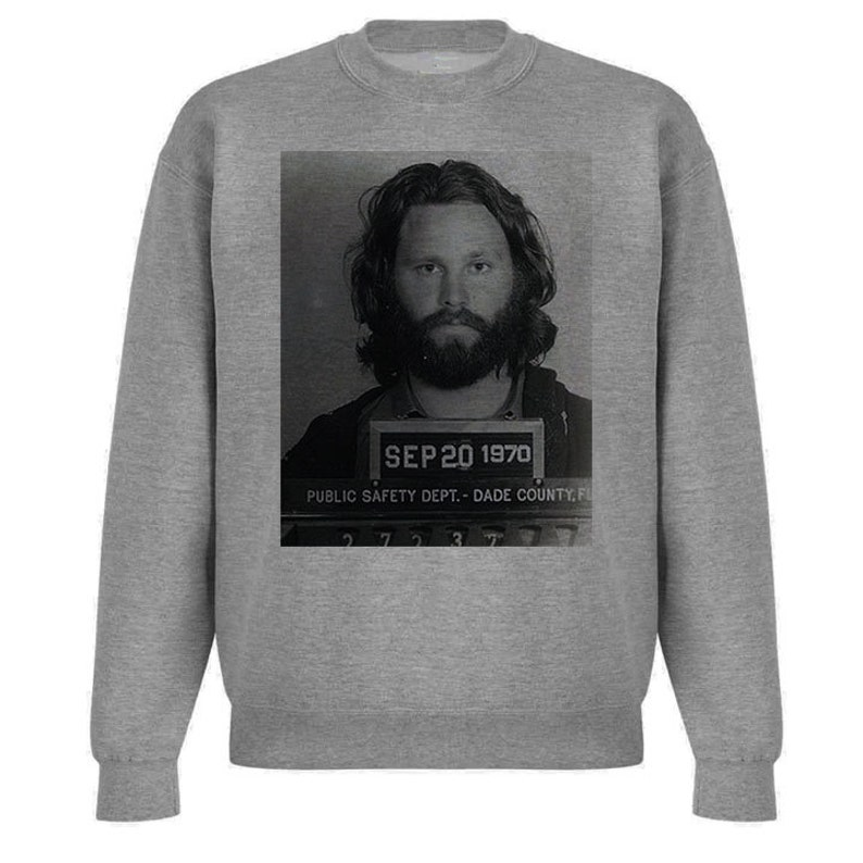 bfbb614836a01 Jim Morrison Mugshot Sweatshirt