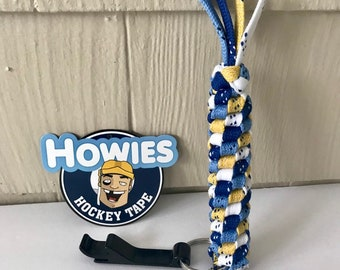 HOCKEY Lace KEY CHAIN (with Bottle Opener) - Free Shipping in U.S.