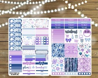 Snowflake B6 Sticker Kit