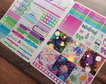 FOIL Splat B6 Sticker Kit