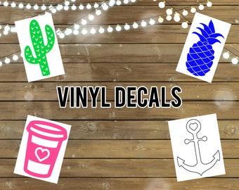 Shape Vinyl Decals