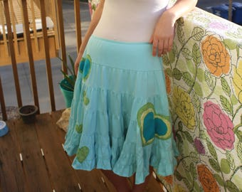 Upcycled Embellished Dress