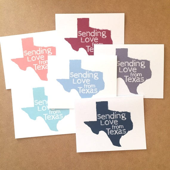 Texas greeting card texas gifts texas cards greetings from etsy image 0 m4hsunfo