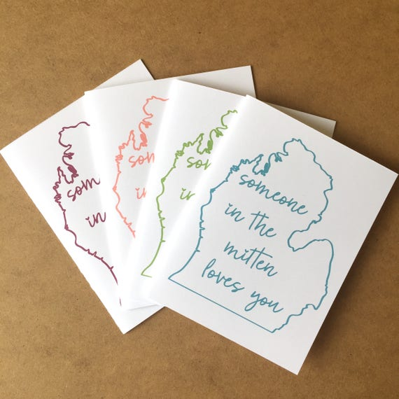 Mitten greeting card michigan made made in michigan etsy image 0 m4hsunfo