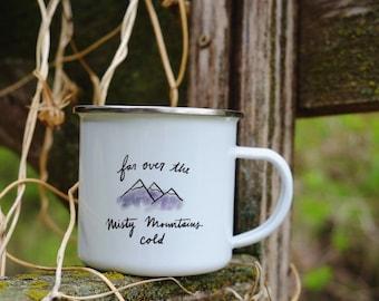 Misty Mountain Mug / Hobbit / Dwarf / Thorin
