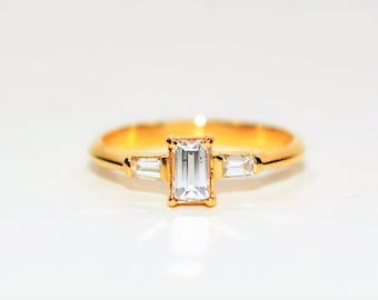 Diamond .65tcw 18kt Yellow Gold Engagement Women's Ring