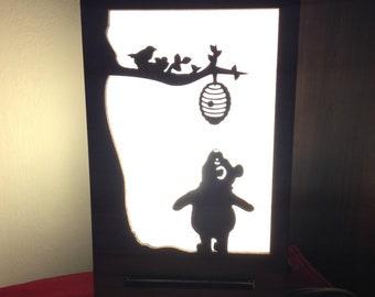 Winnie The Pooh Lamp (Winnie, Tiger, Piglet, Eeyore, Christopher Robin)