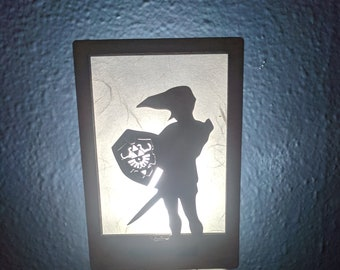 Zelda Link inspired Night Light