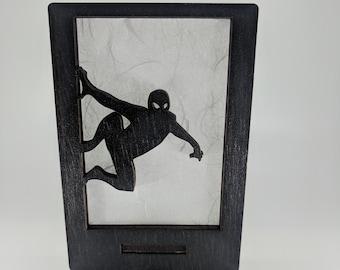 Spiderman Inspired Night Light (Wall Crawler)