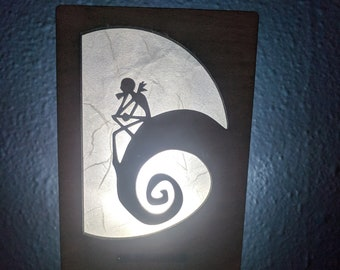 Nightmare Before Christmas Jack inspired Nightlight