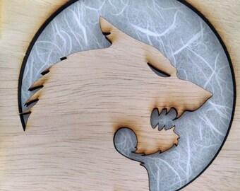 Wolfman Lamp (Werewolf)