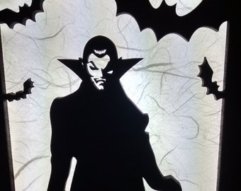 Dracula Vampire Lamp