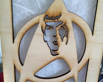 Star Trek The Original Series Inspired lamp (Captain Kirk, Spock, Sulu, Uhura)