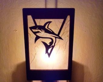 San Jose Sharks Logo Night Light