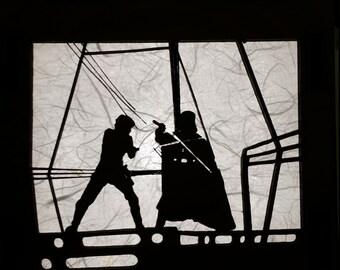 Star Wars Laser cut Lamp (Yoda, Han Solo, R2D2, Darth Vader)