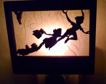 Peter Pan, Wendy and the Darling boys  Night Light