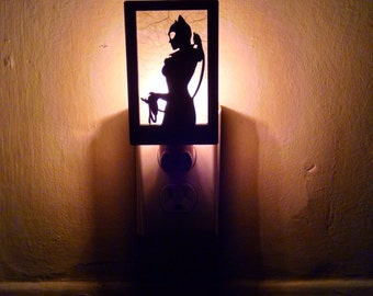 CatWoman Night Light ( Cat Woman)