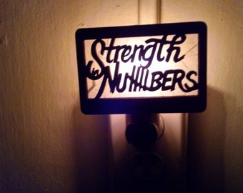 Golden State Warriors - Strength in Numbers Night Light (Golden State Warriors)