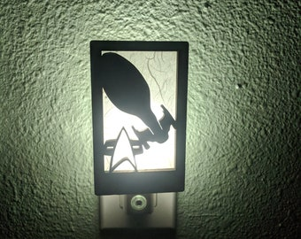 Star Trek Voyager Inspired Night Light